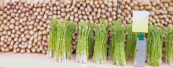 Gesunde-Köstlichket-Spargel Spargel - Lebensmittel des Monats auf Mallorca