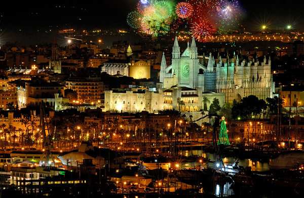Silvester-in-Palma-de-Mallorca Silvester auf Mallorca - Die Erfüllung von 12 Wünschen?