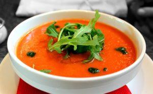Spanisches-Gazpacho-300x185 Tomate - Lebensmittel des Monats auf Mallorca