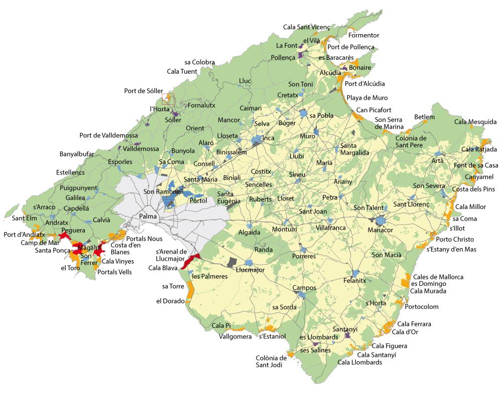 Zonenplan_Mallorca Ferienvermietung Mallorca – die neuen Vorschriften 2018