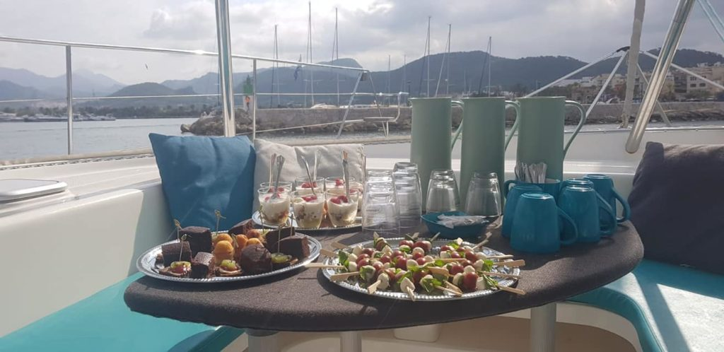 The name says it all - Micha's Breakfast Service specialises in breakfast, which can also be ordered on a yacht. Photo: michasbreakfastservice.com
